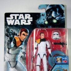 Figuras y Muñecos Star Wars: FIGURA STAR WARS STARWARS REBELS HASBRO 2016 - KANAN JARRUS. Lote 245717790