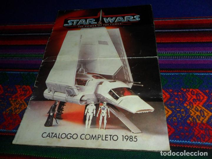 STAR WARS CATÁLOGO COMPLETO 1985 POCH PBP KENNER. SCOUT WALKER VEHICLE. MOTO JET SPEEDER BIKE CAJA. (Juguetes - Figuras de Acción - Star Wars)