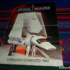 Figuras y Muñecos Star Wars: STAR WARS CATÁLOGO COMPLETO 1985 POCH PBP KENNER. SCOUT WALKER VEHICLE. MOTO JET SPEEDER BIKE CAJA.. Lote 110479723