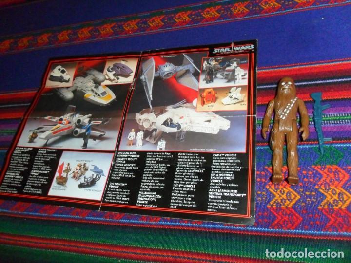 Figuras y Muñecos Star Wars: STAR WARS CATÁLOGO COMPLETO 1985 POCH PBP KENNER. SCOUT WALKER VEHICLE. MOTO JET SPEEDER BIKE CAJA. - Foto 5 - 110479723