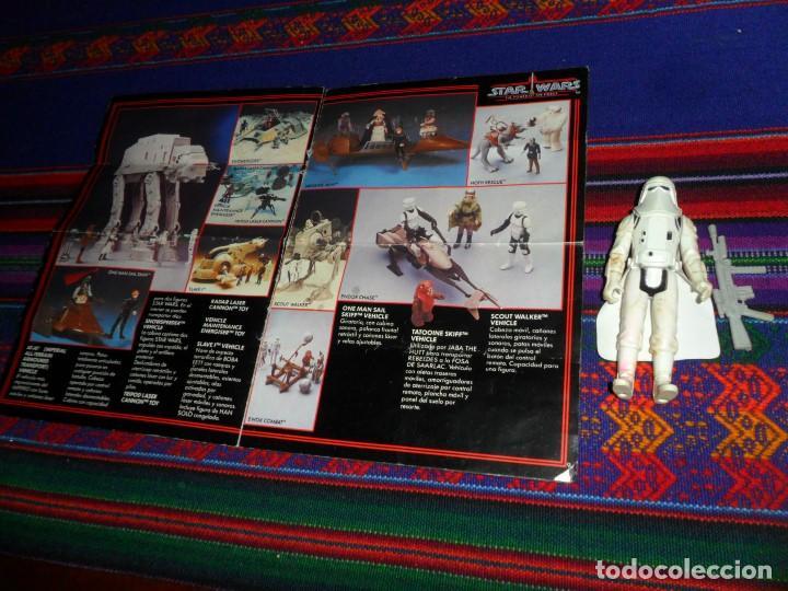 Figuras y Muñecos Star Wars: STAR WARS CATÁLOGO COMPLETO 1985 POCH PBP KENNER. SCOUT WALKER VEHICLE. MOTO JET SPEEDER BIKE CAJA. - Foto 6 - 110479723