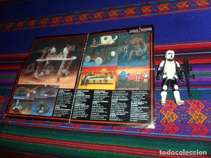 Figuras y Muñecos Star Wars: STAR WARS CATÁLOGO COMPLETO 1985 POCH PBP KENNER. SCOUT WALKER VEHICLE. MOTO JET SPEEDER BIKE CAJA. - Foto 7 - 110479723