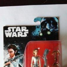 Figuras y Muñecos Star Wars: PRINCESS LEIA ORGANA STAR WARS HASBRO ACCIÓN TIROLINA. Lote 110583327