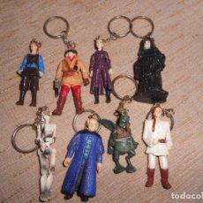 Figuras y Muñecos Star Wars: LOTE DE LLAVEROS FIGURAS DE STAR WARS. Lote 110698867
