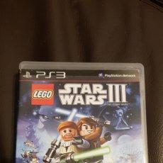 Figuras y Muñecos Star Wars: PS3 LEGO STAR WARS III. Lote 110712362