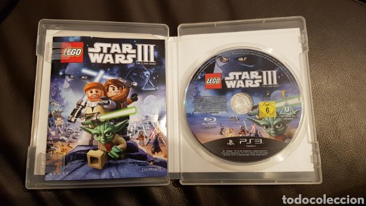 Figuras y Muñecos Star Wars: PS3 lego star wars III - Foto 3 - 110712362