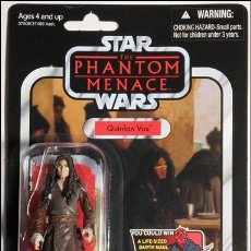 Figuras y Muñecos Star Wars: STAR WARS THE PHANTOM MENACE - QUINLAN VOS - HASBRO. Lote 110879147