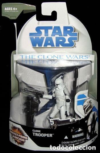 STAR WARS THE CLONE WARS - CLONE TROOPER - HASBRO (Juguetes - Figuras de Acción - Star Wars)