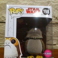 Figuras y Muñecos Star Wars: STAR WARS - FUNKO - PORG - FLOCKED - TERCIOPELO - VINYL BOBBLE HEAD - 198 - POP - NUEVO. Lote 111186635