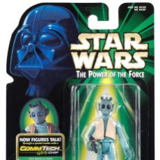 Figuras y Muñecos Star Wars: STAR WARS THE POWER OF THE FORCE - GREEDO - HASBRO. Lote 111233623