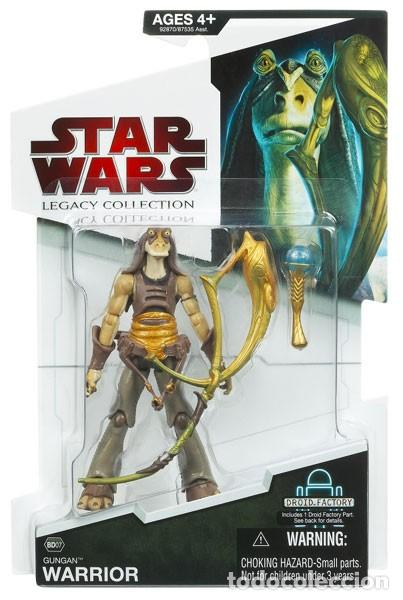 STAR WARS LEGACY COLLECTION - GUNGAN WARRIOR - HASBRO (Juguetes - Figuras de Acción - Star Wars)