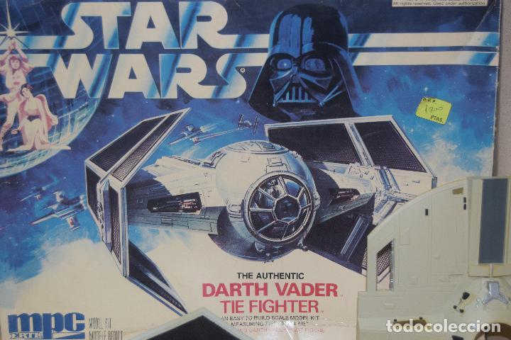 Figuras y Muñecos Star Wars: maqueta de 1989 de darth vader - Foto 3 - 111826639