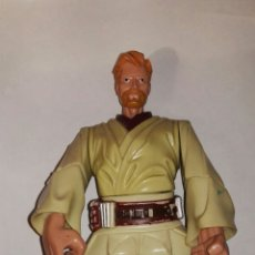 Figuras y Muñecos Star Wars: FIGURA OBI WAN KENOBI STAR WARS ARTICULADA MIDE 17,50 CM. Lote 112065427