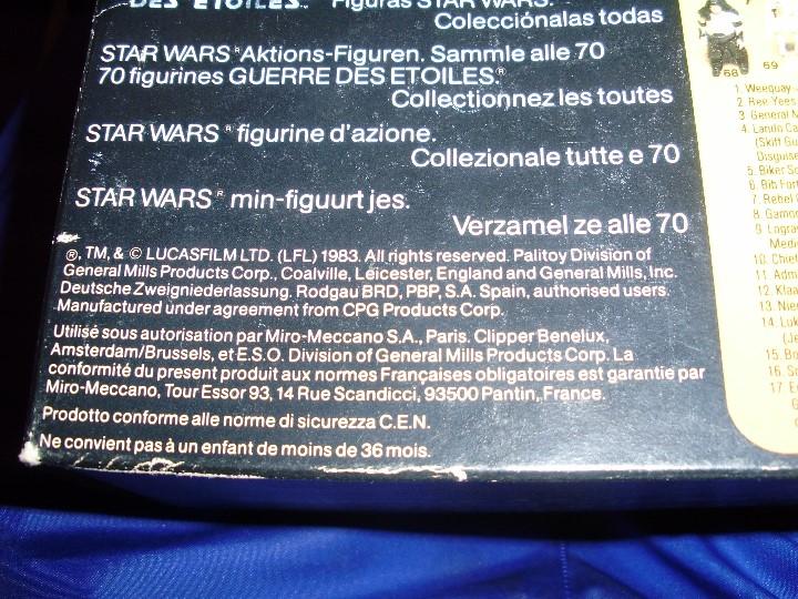 Figuras y Muñecos Star Wars: REBO BAND TRILOGO STAR WARS VINTAGE RETORNO DEL JEDI - Foto 13 - 93403775