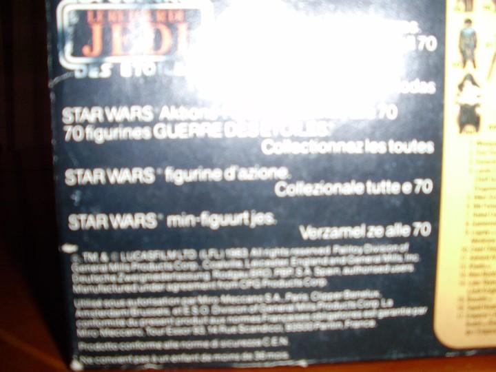 Figuras y Muñecos Star Wars: REBO BAND TRILOGO STAR WARS VINTAGE RETORNO DEL JEDI - Foto 16 - 93403775