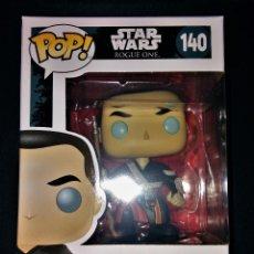 Figuras y Muñecos Star Wars: CHIRRUT IMWE NUEVO BOBBLE-HEAD FUNKO POP! 140 STAR WARS ROGUE ONE VINYL FIGURA FIGURE. Lote 112185555