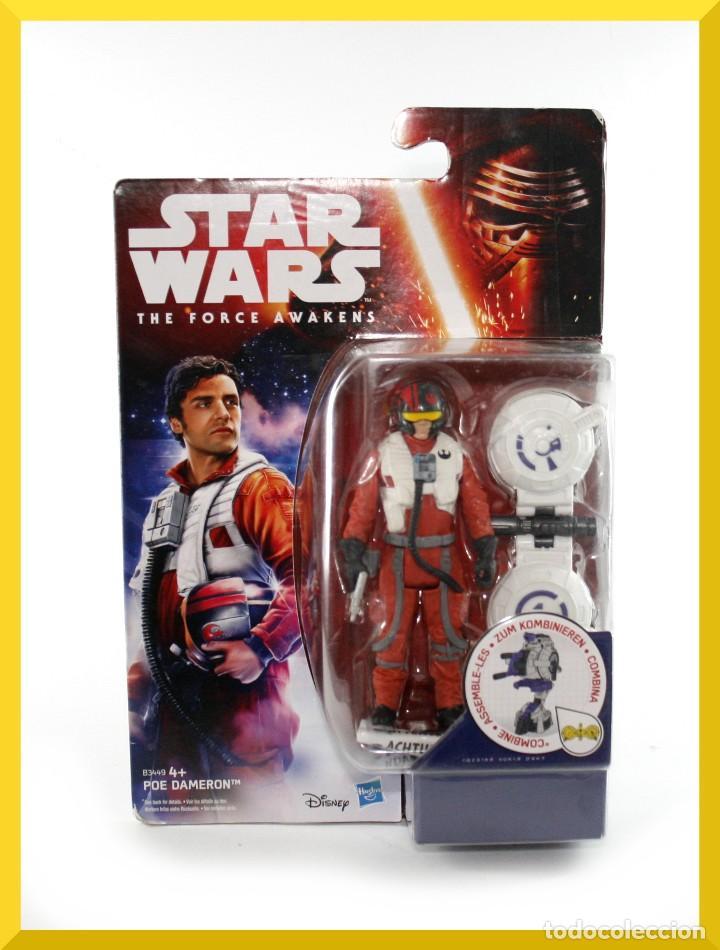 BLISTER STAR WARS POE DAMERON - HASBRO - DISNEY - B3449 - NUEVO (Juguetes - Figuras de Acción - Star Wars)