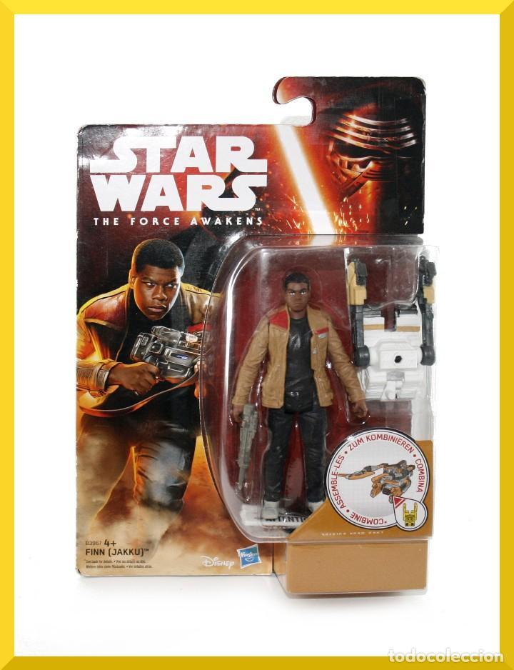BLISTER STAR WARS FINN JAKKU - HASBRO - DISNEY - B3967 - NUEVO (Juguetes - Figuras de Acción - Star Wars)