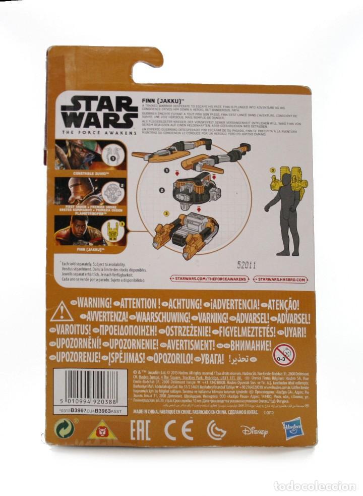 Figuras y Muñecos Star Wars: Blister Star Wars Finn Jakku - Hasbro - Disney - B3967 - Nuevo - Foto 2 - 112452039