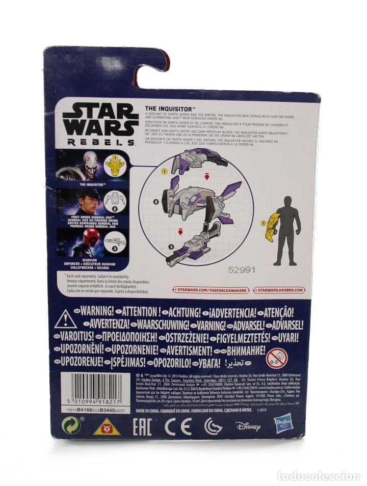 Figuras y Muñecos Star Wars: Blister Star Wars The Inquisitor - Hasbro - Disney - B4166 - Nuevo - Foto 2 - 112452739