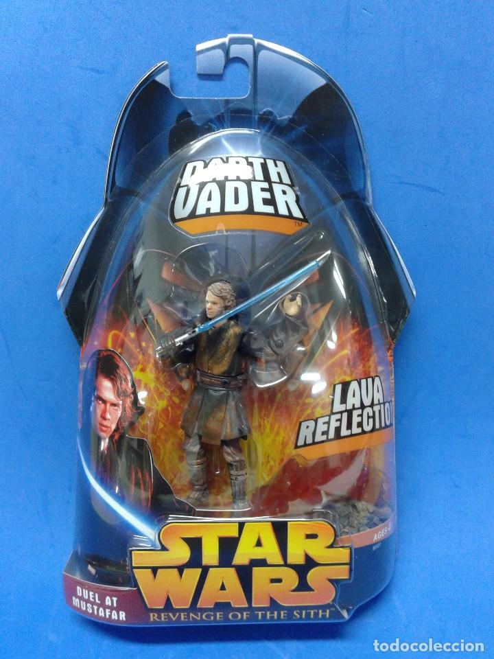 Star Wars Revenge Of The Sith Darth Vader Duel Buy Figures And Dolls Star Wars At Todocoleccion 112727663