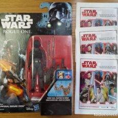 Figuras y Muñecos Star Wars: STAR WARS ROGUE ONE - IMPERIAL GROUND CREW -BLISTER - HASBRO - INCLUYO 3 SOBRES SIN ABRIR. Lote 112809759