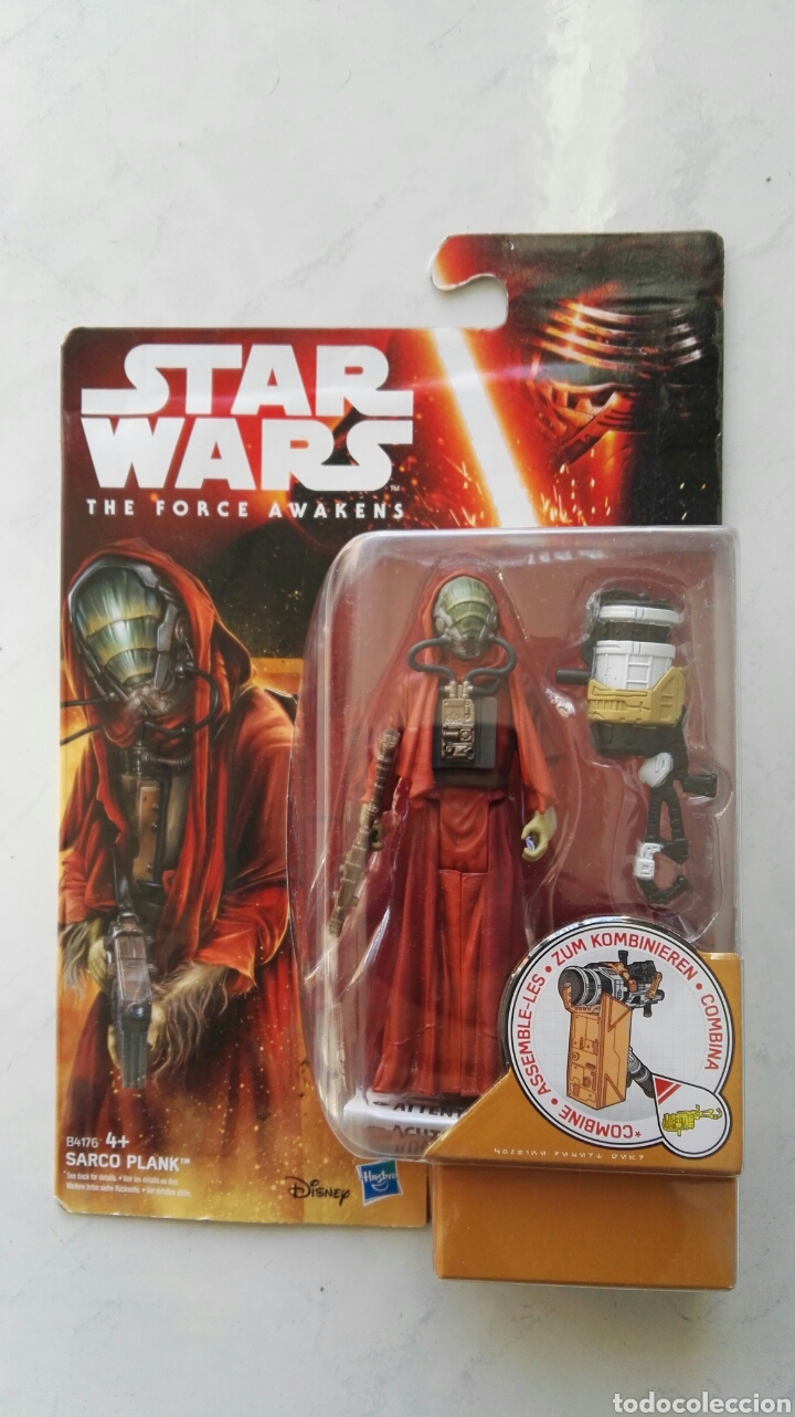STAR WARS THE FORCE AWAKENS SARCO PLANK FIGURA (Juguetes - Figuras de Acción - Star Wars)