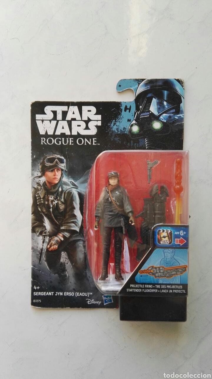 STAR WARS ROGUE ONE SERGEANT JYN ERSO (EADU) FIGURA HASBRO (Juguetes - Figuras de Acción - Star Wars)