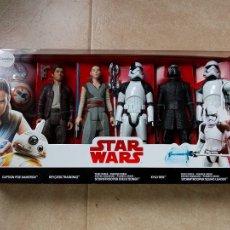 Figuren von Star Wars - PACK 6 FIGURAS 30 M 12 PULGADAS STAR WARS STORMTROOPER KYLO REN REY POE DAMERON HASBRO DISNEY NUEVO - 112843603