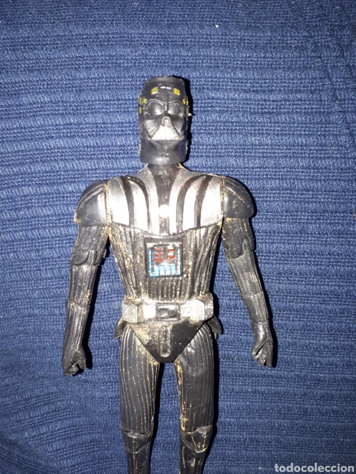 Figuras y Muñecos Star Wars: Darth vader fake bootleg raro 15 cm incompleto - Foto 3 - 112933071