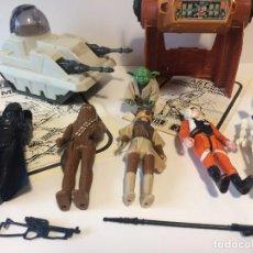 Figuras y Muñecos Star Wars: MAGNIFICO LOTE STAR WARS AÑOS 70/80 ORGINAL . Lote 112997263
