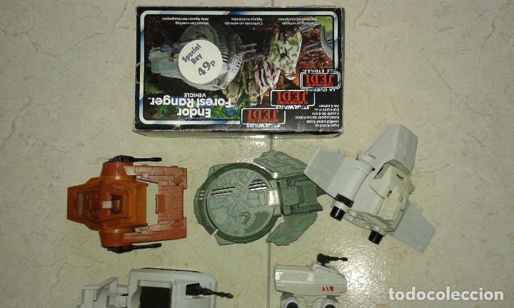 Figuras y Muñecos Star Wars: STAR WARS VINTAGE JOB LOT LOTE CAJA BOX ENDOR FOREST RANGER MINI RIGS MTV-7 ISP-6 MLC-3 AST-5 KENNE - Foto 4 - 113335047