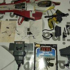Figuras y Muñecos Star Wars: STAR WARS VINTAGE JOB LOT LOTE CAJA BOX TRIPOD LASER CANNON MINI RIGS INT-4 FOLLETO CAP-2 2008 STAR. Lote 113338615