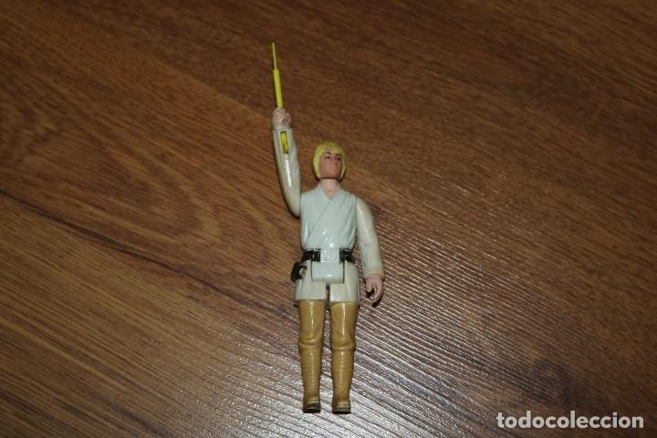 FIGURA ACCIÓN STAR WARS KENNER LUKE FARMBOY 1977 SABLE REPRO HONG KONG GMFGI VINTAGE (Juguetes - Figuras de Acción - Star Wars)