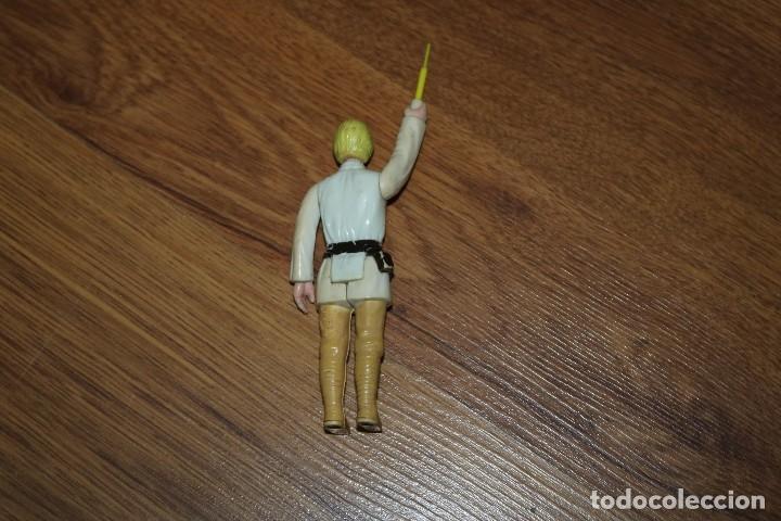 Figuras y Muñecos Star Wars: Figura acción Star Wars Kenner Luke farmboy 1977 sable repro Hong Kong GMFGI vintage - Foto 2 - 113126063