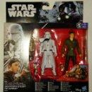 Figuras y Muñecos Star Wars: STAR WARS # SNOWTROOPER OFFICER & POE DAMERON # NUEVO EN SU CAJA ORIGINAL DE HASBRO.. Lote 113968304