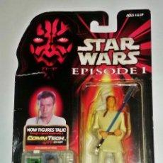 Figuras y Muñecos Star Wars: STAR WARS # OBI-WAN KENOBI # EPISODIO 1 - COMMTECH CHIP - NUEVO EN SU BLISTER ORIGINAL DE HASBRO.. Lote 114460199