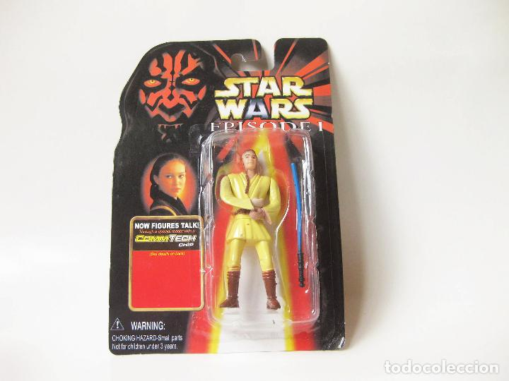Figuras y Muñecos Star Wars: FIGURA STAR WARS EN BLISTER DE OBI WAN - EPISODE I - EPISODIO 1 - MADE IN CHINA - FALSA - BOOTLEG - Foto 1 - 114645407