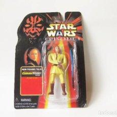 Figuras y Muñecos Star Wars: FIGURA STAR WARS EN BLISTER DE OBI WAN - EPISODE I - EPISODIO 1 - MADE IN CHINA - FALSA - BOOTLEG. Lote 114645407