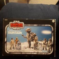 Figuras y Muñecos Star Wars: LUKE SKYEALKER ' S TAUNTAUN HASBRO KENNER 2011 TVE VINTAGE COLLECTION NUEVO A ESTRENAR. Lote 114645495
