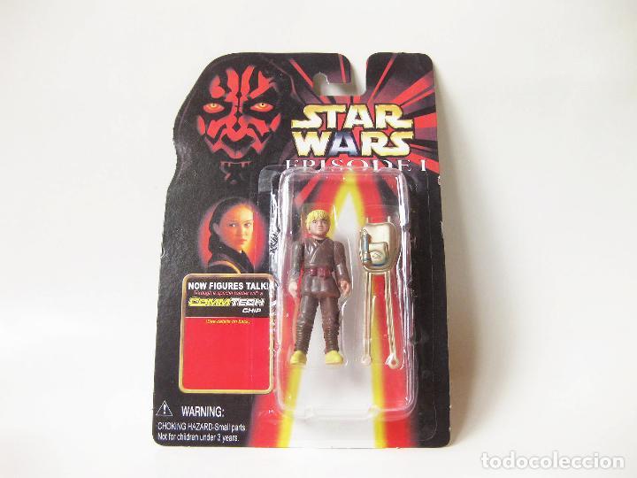 FIGURA STAR WARS EN BLISTER DE ANAKIN - EPISODE I - EPISODIO 1 - MADE IN CHINA - FALSA - BOOTLEG (Juguetes - Figuras de Acción - Star Wars)