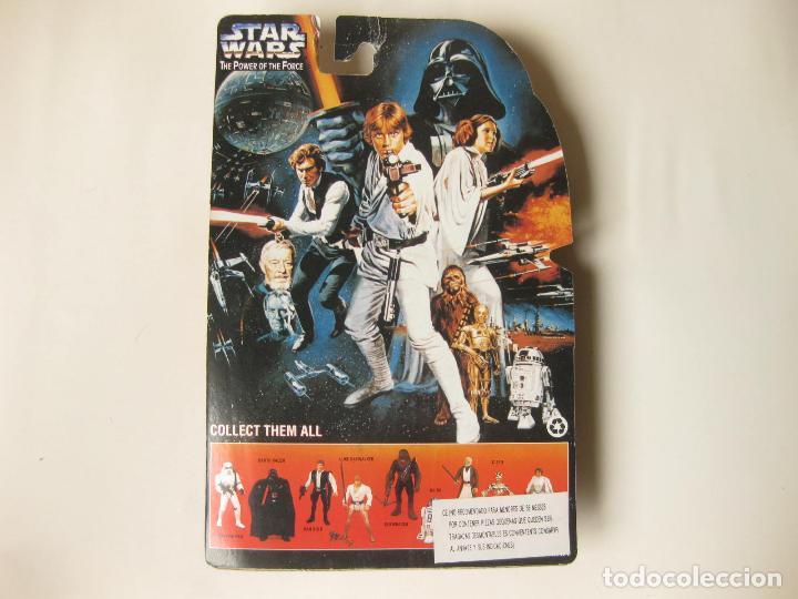 Figuras y Muñecos Star Wars: FIGURA STAR WARS EN BLISTER PRINCESA LEIA - THE POWER OF THE FORCE - MADE IN CHINA - FALSA - BOOTLEG - Foto 3 - 114674707