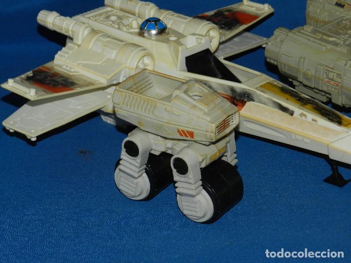 Figuras y Muñecos Star Wars: (M) LOTE DE NAVES STAR WARS - LUCASFILM LTD 1983 , TODAS LAS NAVES LES FALTA ALGUNA COSA - Foto 2 - 115078387