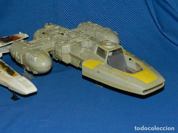 Figuras y Muñecos Star Wars: (M) LOTE DE NAVES STAR WARS - LUCASFILM LTD 1983 , TODAS LAS NAVES LES FALTA ALGUNA COSA - Foto 4 - 115078387