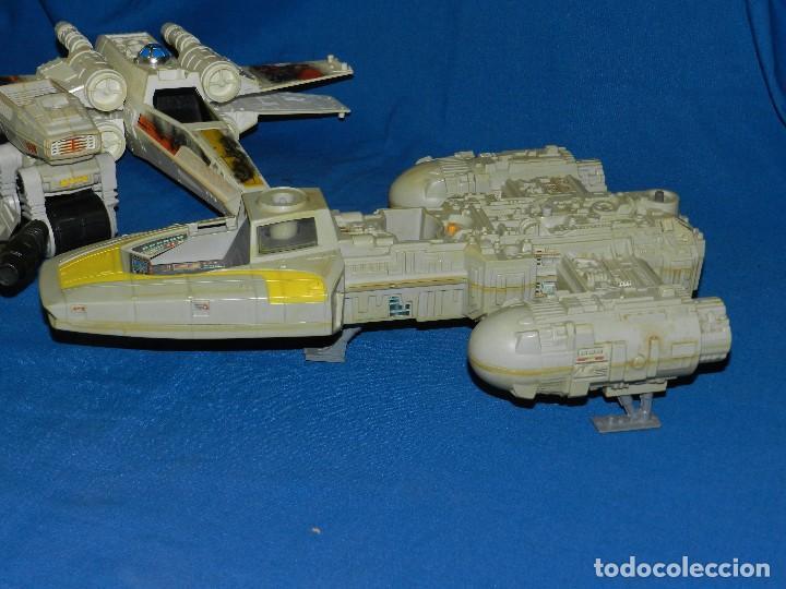 Figuras y Muñecos Star Wars: (M) LOTE DE NAVES STAR WARS - LUCASFILM LTD 1983 , TODAS LAS NAVES LES FALTA ALGUNA COSA - Foto 5 - 115078387