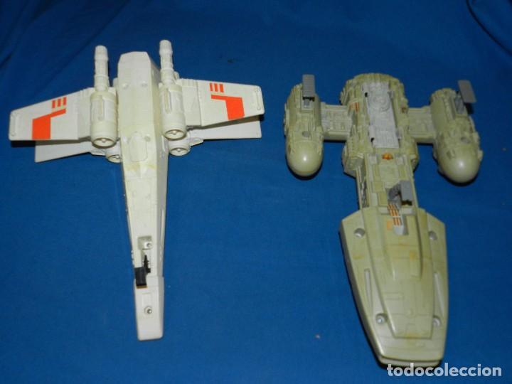 Figuras y Muñecos Star Wars: (M) LOTE DE NAVES STAR WARS - LUCASFILM LTD 1983 , TODAS LAS NAVES LES FALTA ALGUNA COSA - Foto 7 - 115078387