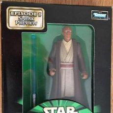 Figuras y Muñecos Star Wars: FIGURA STAR WARS POTF MACE WINDU SNEAK PREVIEW. Lote 115365723