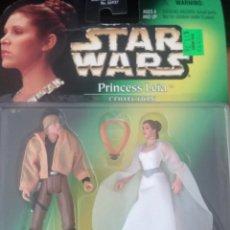 Figuras y Muñecos Star Wars: FIGURA STAR WARS POTF PRINCESS LEIA COLLECTION WITH LUKE SKYWALKER. Lote 115365827
