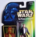 Figuras y Muñecos Star Wars: STAR WARS # HAN SOLO # THE POWER OF THE FORCE - NUEVO EN SU BLISTER ORIGINAL DE KENNER.. Lote 115412415