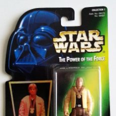 Figuras y Muñecos Star Wars: STAR WARS # LUKE SKYWALKER # THE POWER OF THE FORCE - NUEVO EN SU BLISTER DE KENNER.. Lote 115416603